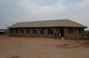 Pentecostal Church of Yei. Location of our CT workshop