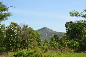 Mountain to the North of Kendila where John was held captive by the demons.