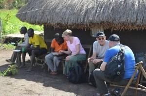 Preparing for the day in Kendila & Gilumbi