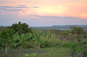 Sunset in Morobo County...Looking out over Gilumbi, Kendila, & Pabanga