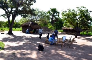 Small group meeting location in Pabanga