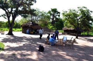 Small group meeting location in Pabanga